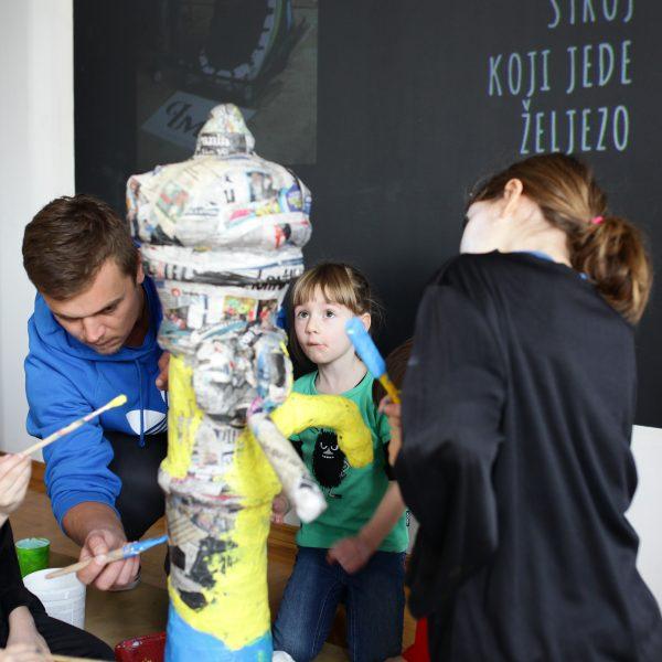 Pimp my Pump, Kreativni start, Likovna radionica, Praktikum Zagreb