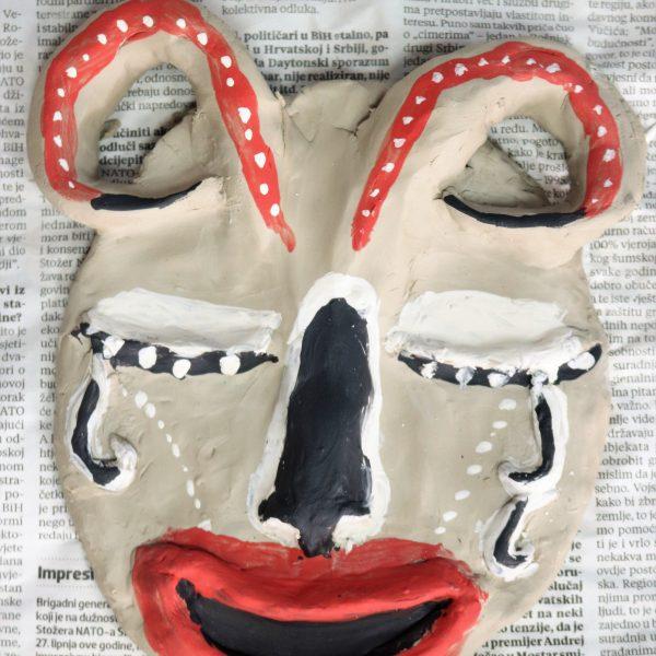 Afričke maske, Marija Maja Stojanović. Praktikum Zagreb, Likovne radionice
