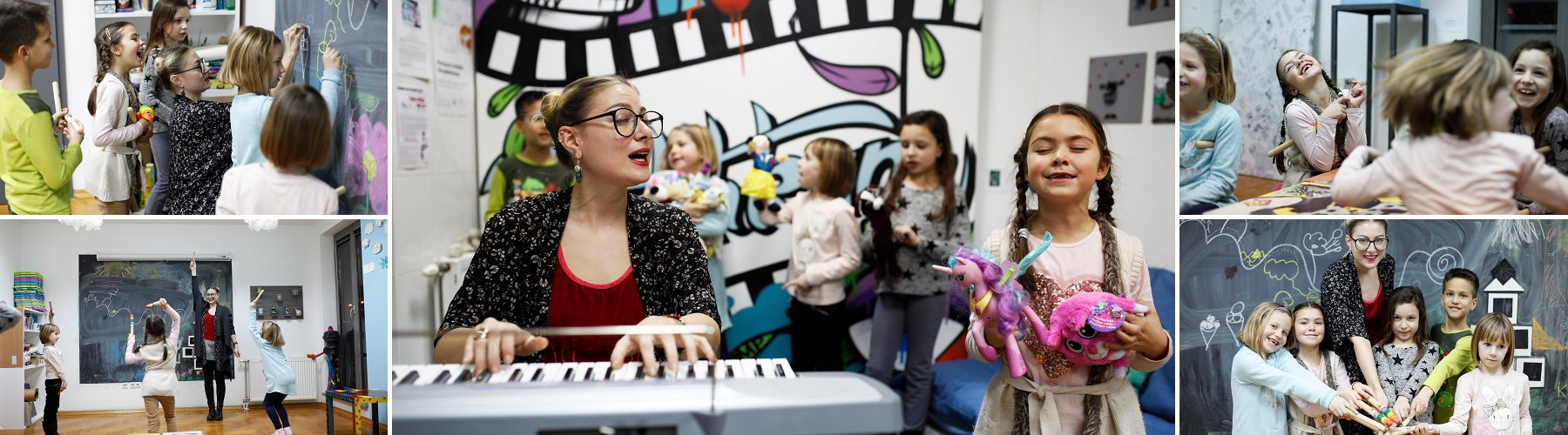 glazbene radionice i radionice pjevanja