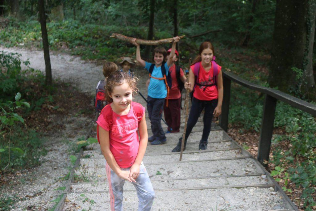 kamp planinarenje za djecu praktikum zagreb