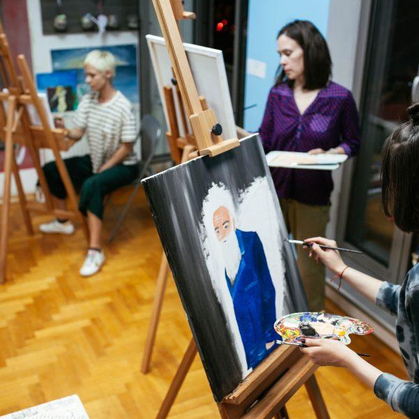 Art Class za odrasle Praktikum Zagreb