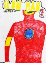 Josip Sulje, dobitnik nagrade za plakat Iron Man