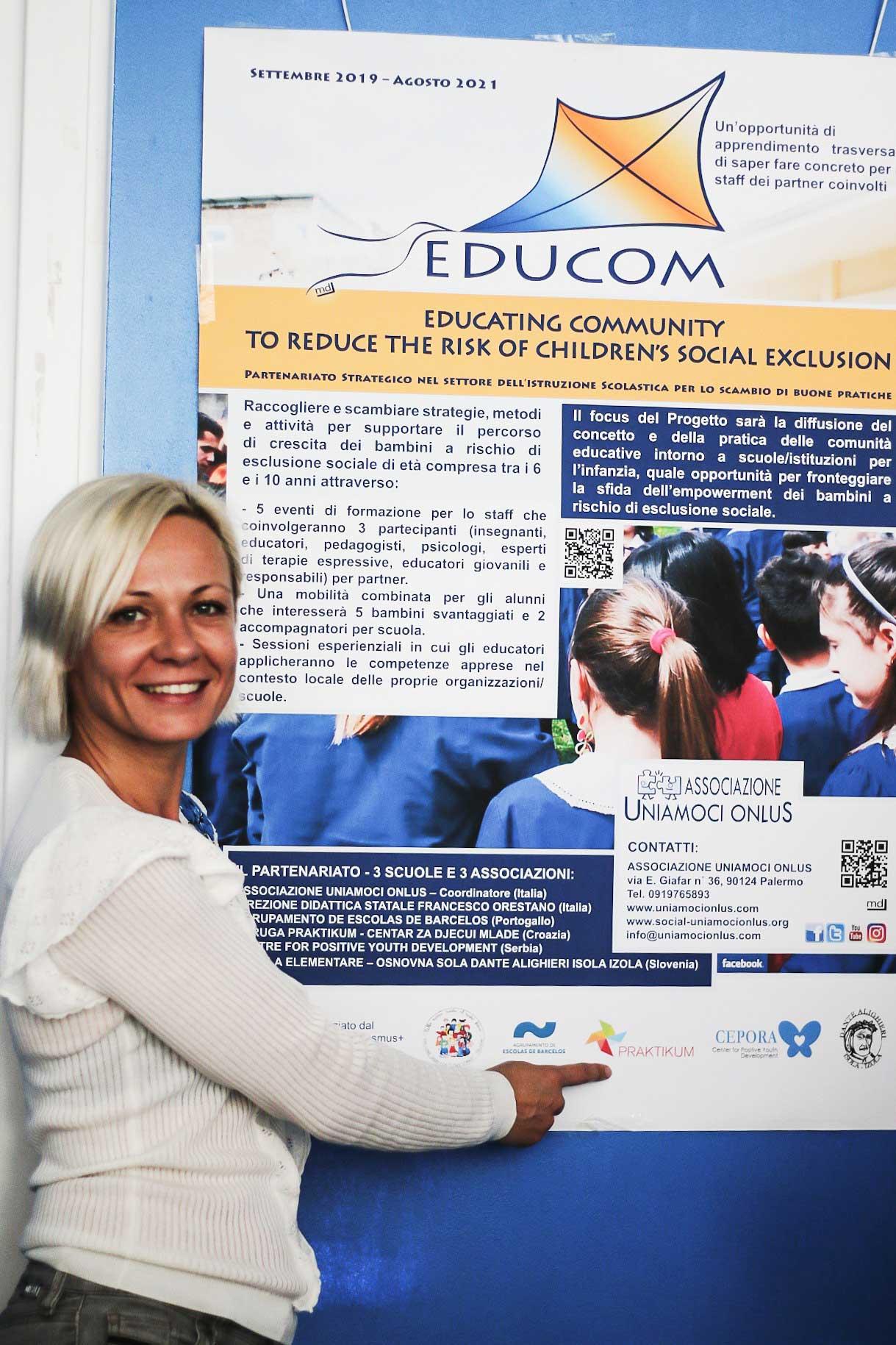 EDUCOM Palermo Praktikum Zagreb - Suradnja organizacija civilnog društva i obrazovnih institucija
